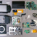 Замена дисплея в PSP