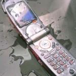 Телефон намок