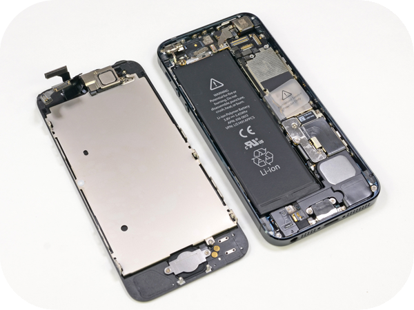 замена стекла в iphone5