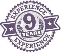 У нас 9 лет опыта!