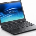Темний екран ноутбуку Sony Vaio