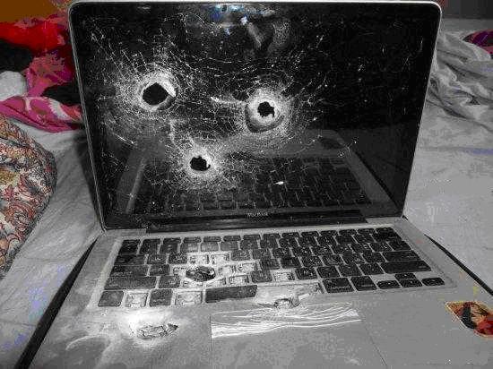 Неисправный ноутбук