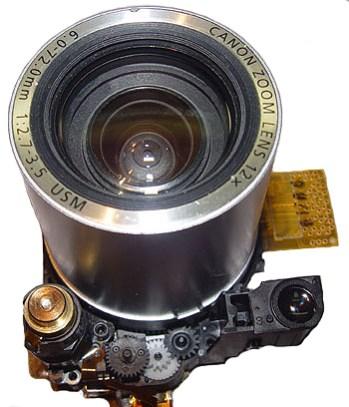 Ремонт объектива фотоаппарата