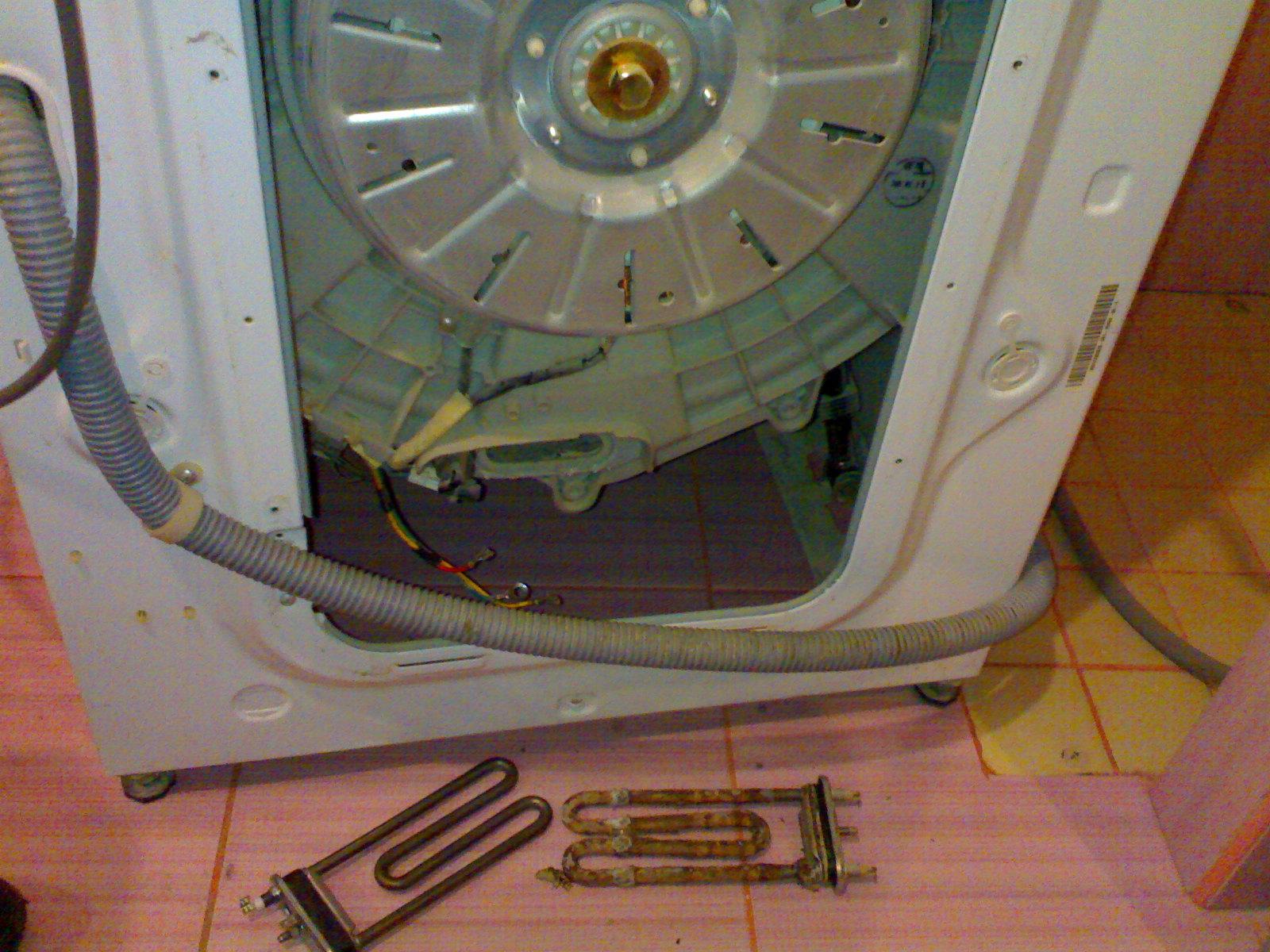Появилась накипь в стиральной машинке