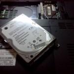 Заміна жорсткого диска в ноутбуці