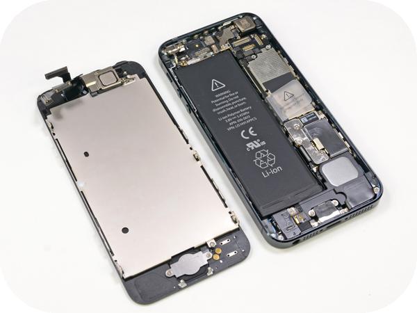 замена стекла в iphone 5